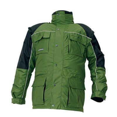 STANMORE téli kabát zöld/fekete S
