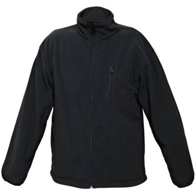 FF KURT BE-02-004 kabát fleece fekete L