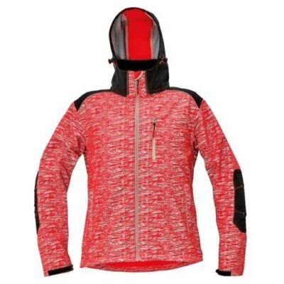 KNOXFIELD softshell dzseki piros XS