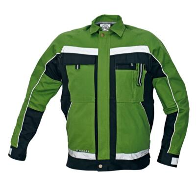 STANMORE kabát zöld/fekete 48