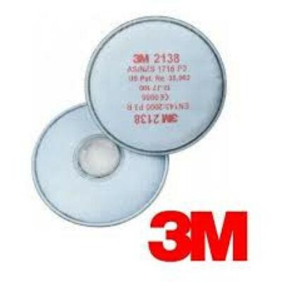 3M 2138 szűrőbetét P3  2db/csom.