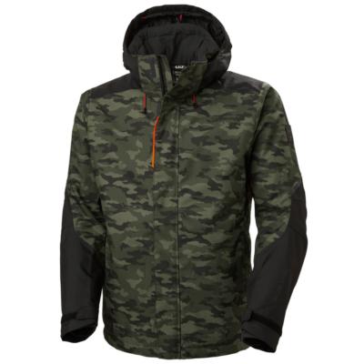 Munkaruházat Helly Hansen Kensington Winter Jacket 481 CAMO XS