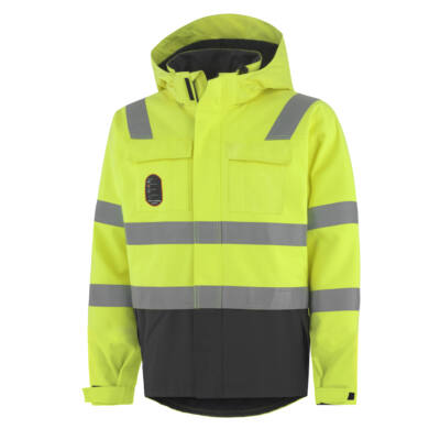HH ABERDEEN INSULATED Jacket 369 citrom/fekete XS