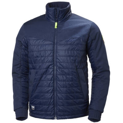 HH AKER Insulated Jacket 585 evening blue S