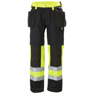 Munkaruházat Helly Hansen ALTA Construction Pant CL1 sárga/fekete 44