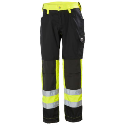 Munkaruházat Helly Hansen ALTA Service Pant CL1 sárga/fekete 44