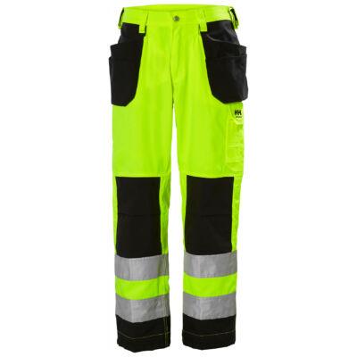 HH ALTA Construction Pant CL2 sárga/fekete 44