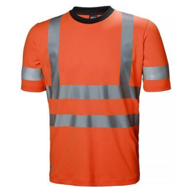 Munkaruházat Helly Hansen HV ADDVIS T-SHIRT Orange 260 XS