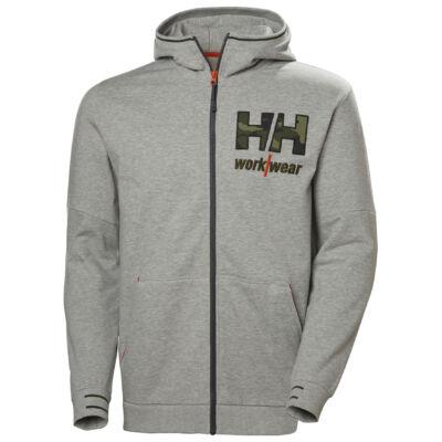 HH KENSINGTON Zip Hoodie szürke/camo XS