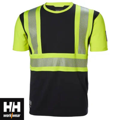 Munkaruházat Helly Hansen ICU T-SHIRT HV 369 yellow/black S