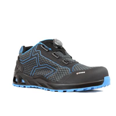 Munkavédelmi cipő Base K-Trek S1P HRO SRC fekete/kék 42
