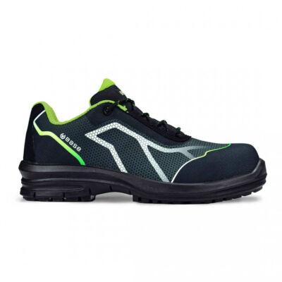 Munkavédelmi cipő Base Oren S3 SRC fekete/zöld 41