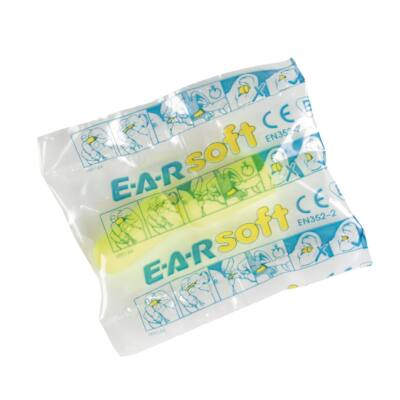 E-A-Rsoft Yellow Neon ES-01-001 250pár