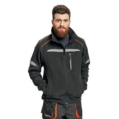 EMERTON SOFTSHELL kabát fekete L