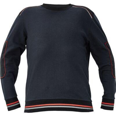 KNOXFIELD pulóver antracit/piros XS