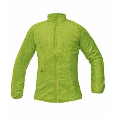 YOWIE női polár kabát zöld XS